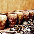 Date Pots, Oman  by Redhawk1700