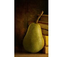 Kathy's Pear Photographic Print