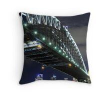 HarbourBridge Throw Pillow