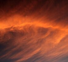 Fire in the sky by Aneta Bozic