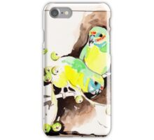 Fig Parrots iPhone Case/Skin