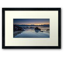 Cabarita Beach, NSW, Sunrise Reflections Framed Print