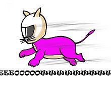 Speedy Cat by Lightrace