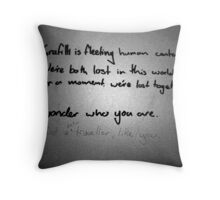 Graf Throw Pillow