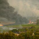 Yarra Valley Fires by Ern Mainka