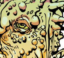 Monster Head 1  Sticker