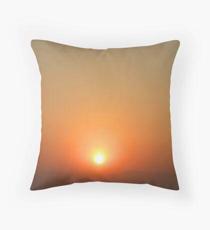 Morning glory... Throw Pillow