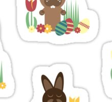 Easter bunnies Sticker