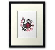 The Black Swan Framed Print