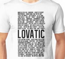 Lovatic Songs Unisex T-Shirt