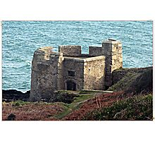 """"""" This is the Water side Garrison of the Castle."""" Photographic Print"""