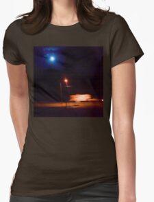 The doppler light Womens Fitted T-Shirt