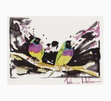 Gouldian Finches Kids Clothes