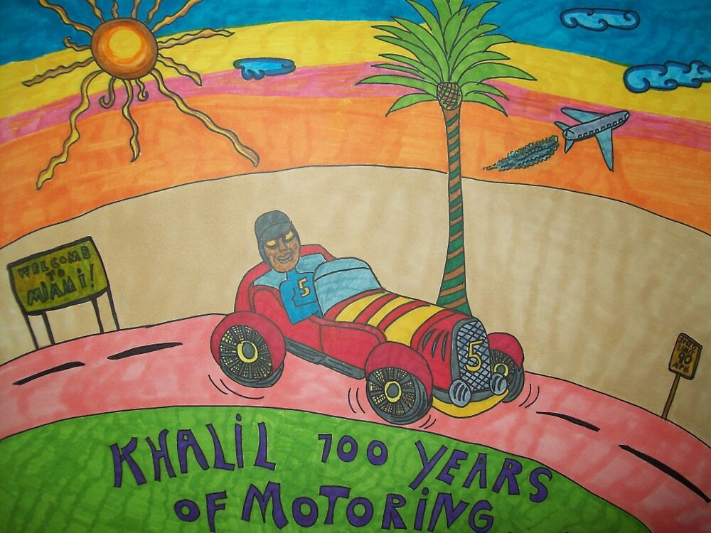 Khalil, 100 years of motoring by katts