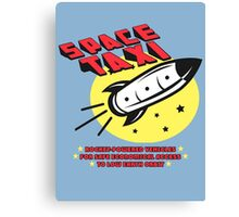 Space Taxi Canvas Print