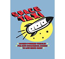 Space Taxi Photographic Print