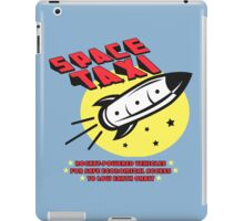 Space Taxi iPad Case/Skin
