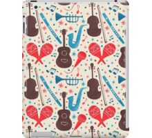 Music Instruments Pattern iPad Case/Skin