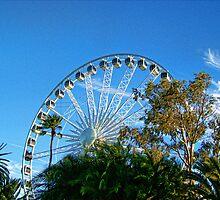 Perth Foreshore Ferris Wheel by Daniel Rayfield