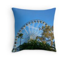 Perth Foreshore Ferris Wheel Throw Pillow