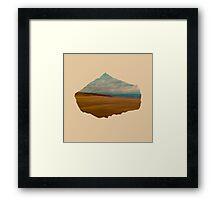 Eroded Composition | Four Framed Print