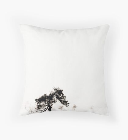 From the Fog III Throw Pillow