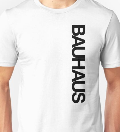 BAUHAUS AND THE BLANK SPACE (W) Unisex T-Shirt