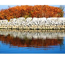 Water Reflection I (lakeshore) Photographic Print