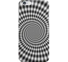 Awesome dots spiral optical illusion iPhone Case/Skin