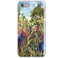 Purple Swamphens iPhone Case/Skin