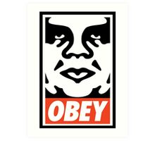 sup | Andre The Giant x OBEY Art Print