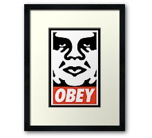 sup | Andre The Giant x OBEY Framed Print