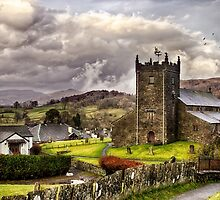 St Michaels & All Angels - Hawkshead by Vicki Field