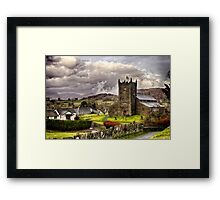 St Michaels & All Angels - Hawkshead Framed Print