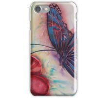 Stained Glass Butterfly iPhone Case/Skin