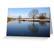 Calm River.. Greeting Card
