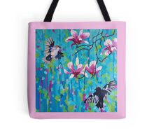 Magnolia & Birds Tote Bag
