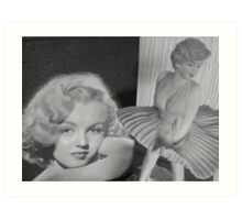 Tribute to Marilyn Art Print