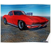 '67 Sting Rod Poster