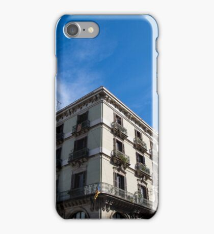 Barcelona Blue iPhone Case/Skin