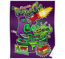 Purple's Tentaco's Poster