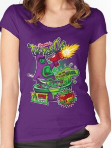 Purple's Tentaco's Women's Fitted Scoop T-Shirt