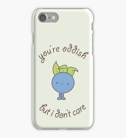 U are oddish iPhone Case/Skin