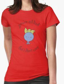 U are oddish Womens Fitted T-Shirt