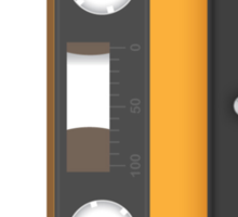 Awesome blank music tape Sticker