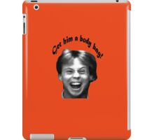 The Karate Kid: Get Him A Body Bag! iPad Case/Skin