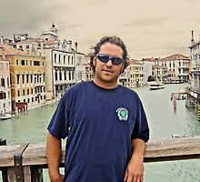 On Rialto Bridge by Laurie Search