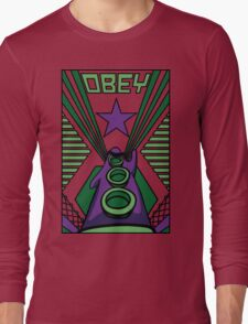 OBEY Purple Tentacle Long Sleeve T-Shirt