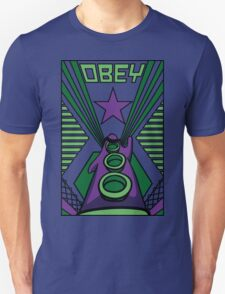 OBEY Purple Tentacle Unisex T-Shirt