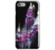 Bokeh Christmas Castle iPhone Case/Skin
